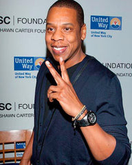 Jay-z Wearing a Bracelet & Watch