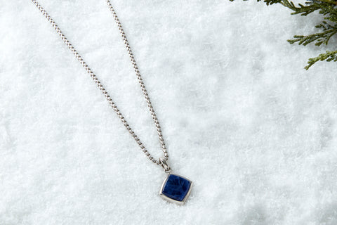 Prime Necklace - Solid Silver (Pendant Only)