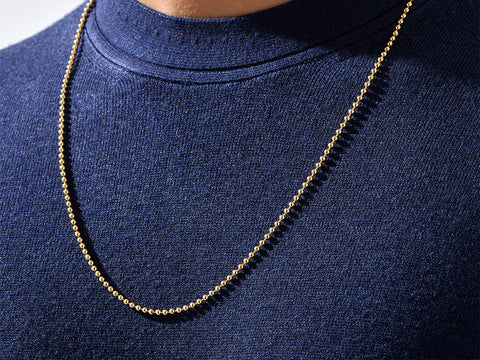 solid gold chain