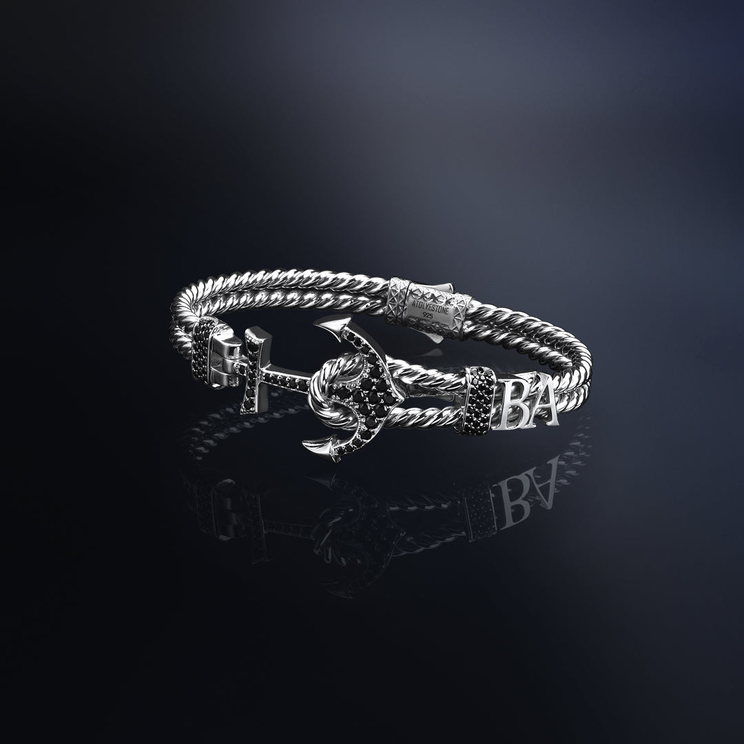 Statements Twined Anchor Bangle