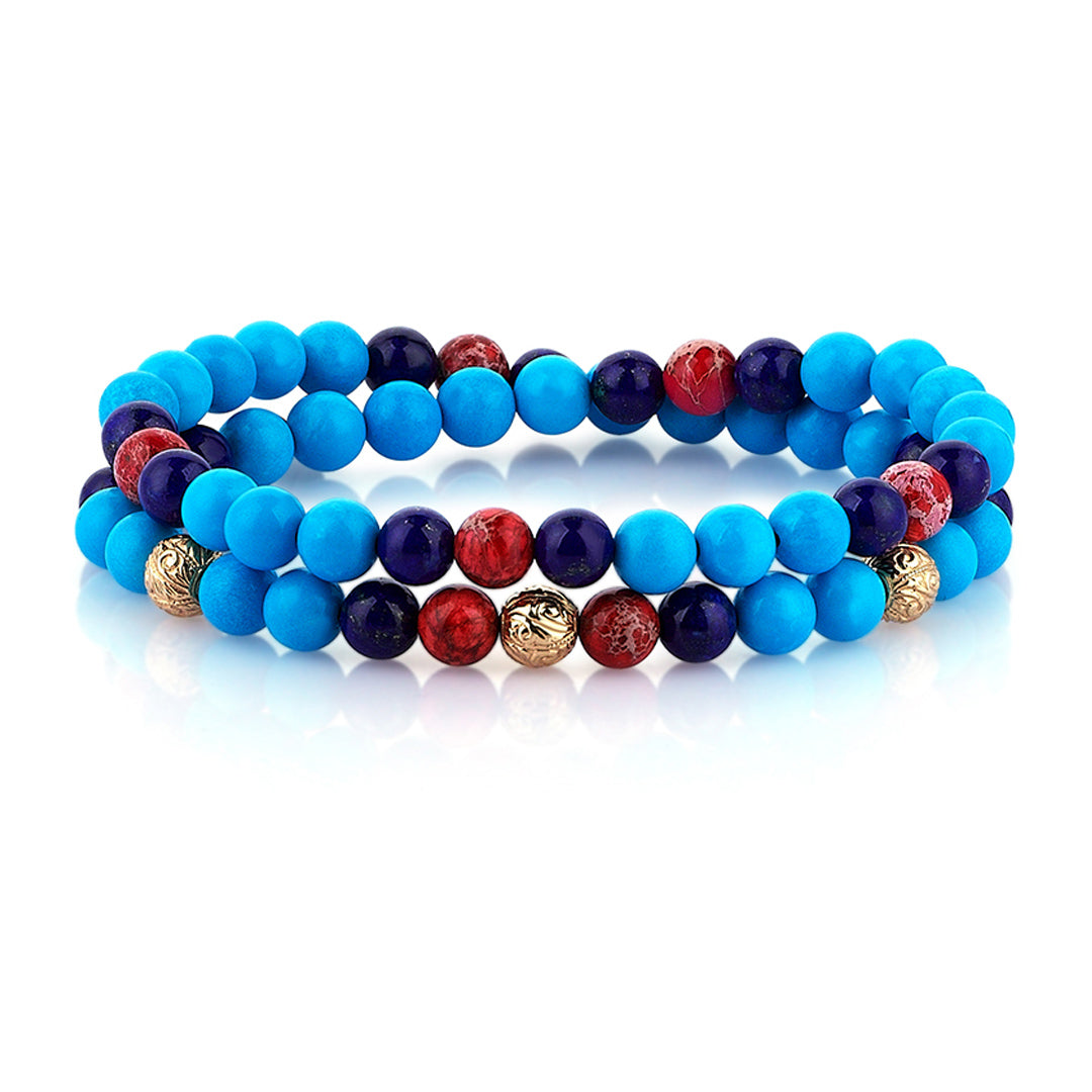 Soho Double Beaded Bracelet