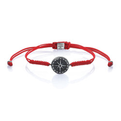Compass Solitaire Macrame - Red