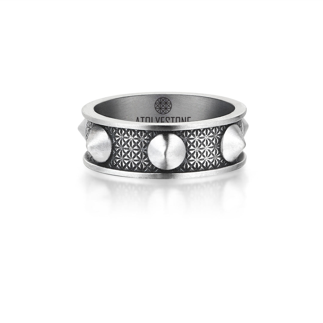 Spike Ring - Solid Silver