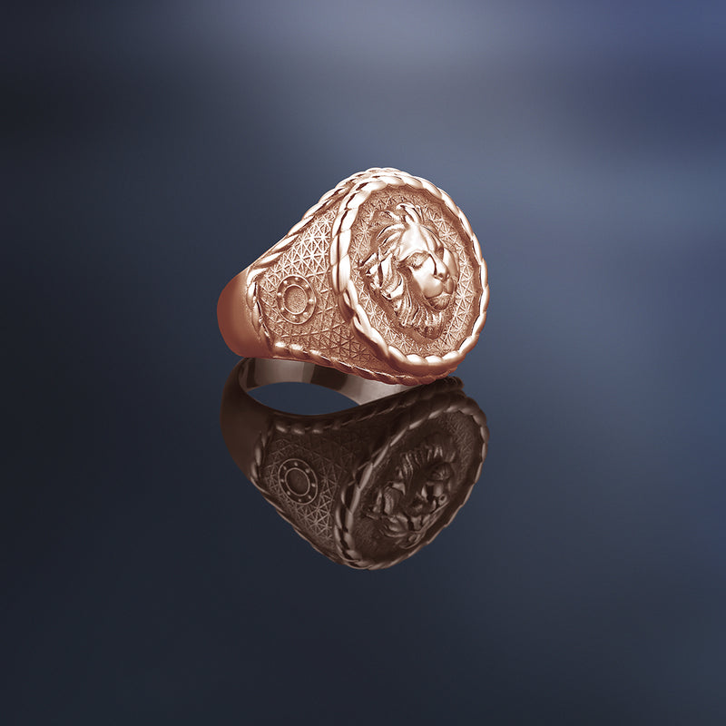 Leo Ring - Rose Gold