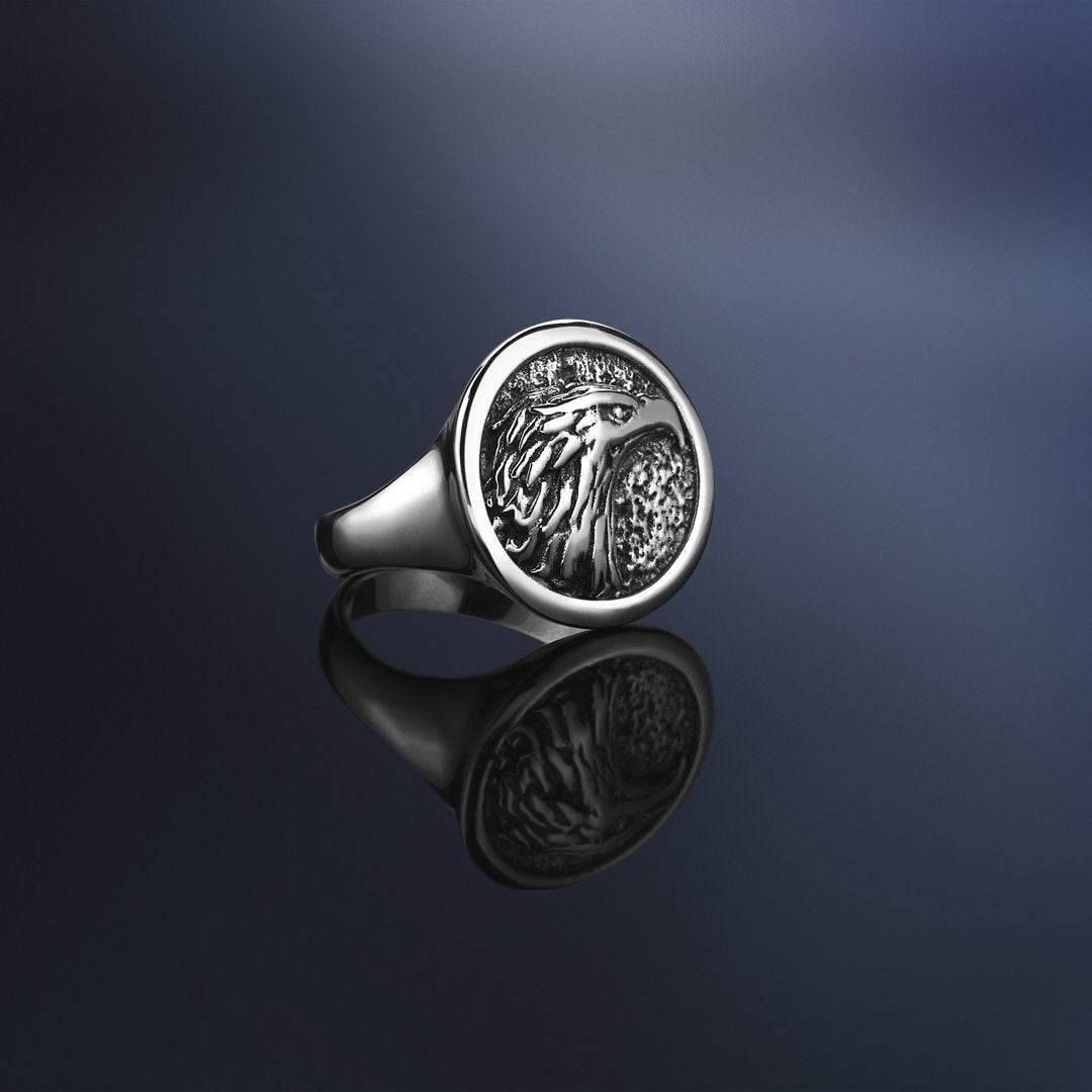 Eagle Ring - Solid Gold