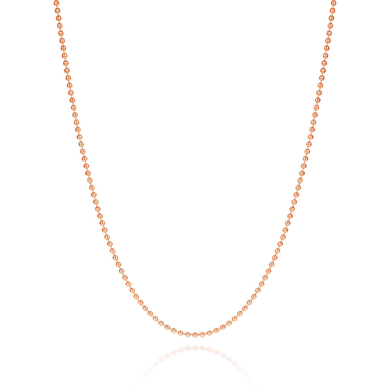 Mens Necklace Chain - Solid Gold