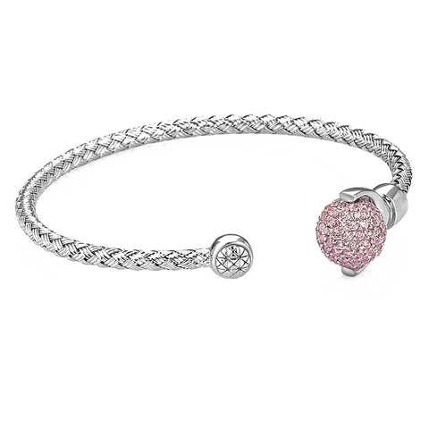 Women's Rose Petite Anchor Bracelet - Solid Silver