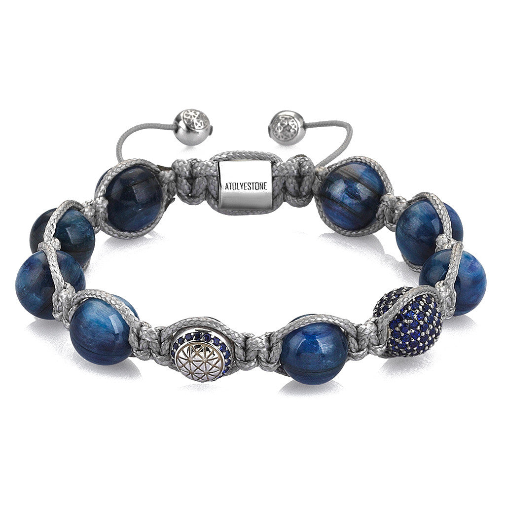 Kyanite Macrame Bracelet for Her
