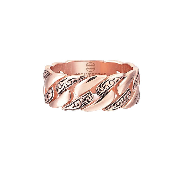 Classic Chain Ring - Rose Gold