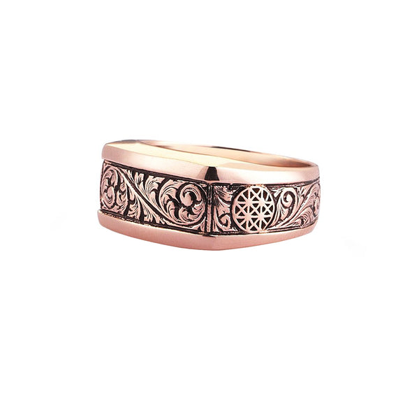 Edge Classic Ring - Rose Gold