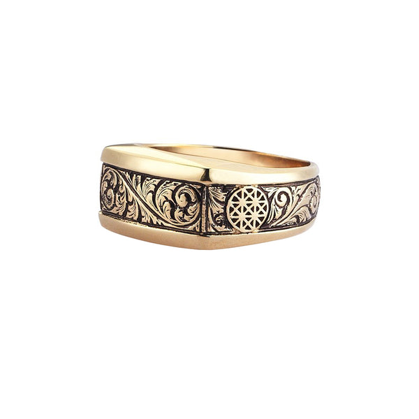 Edge Classic Ring - Yellow Gold