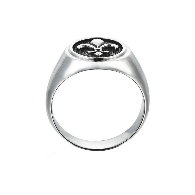 Fleur De Lis Ring for Men
