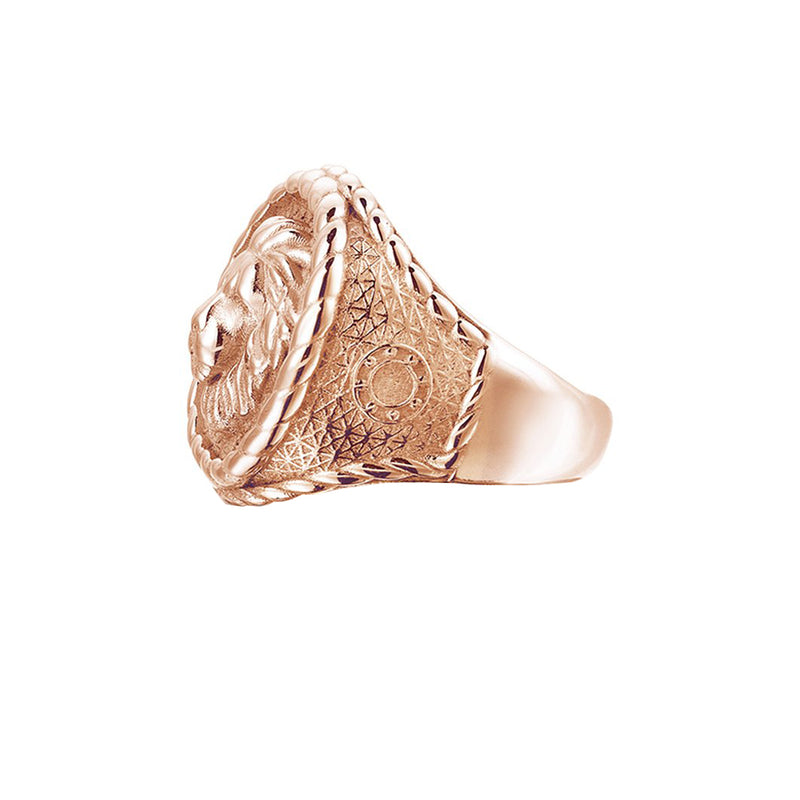 Mens Imperial Leo Ring - Solid Gold