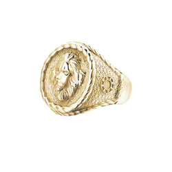 Imperial Leo Ring - Yellow Gold