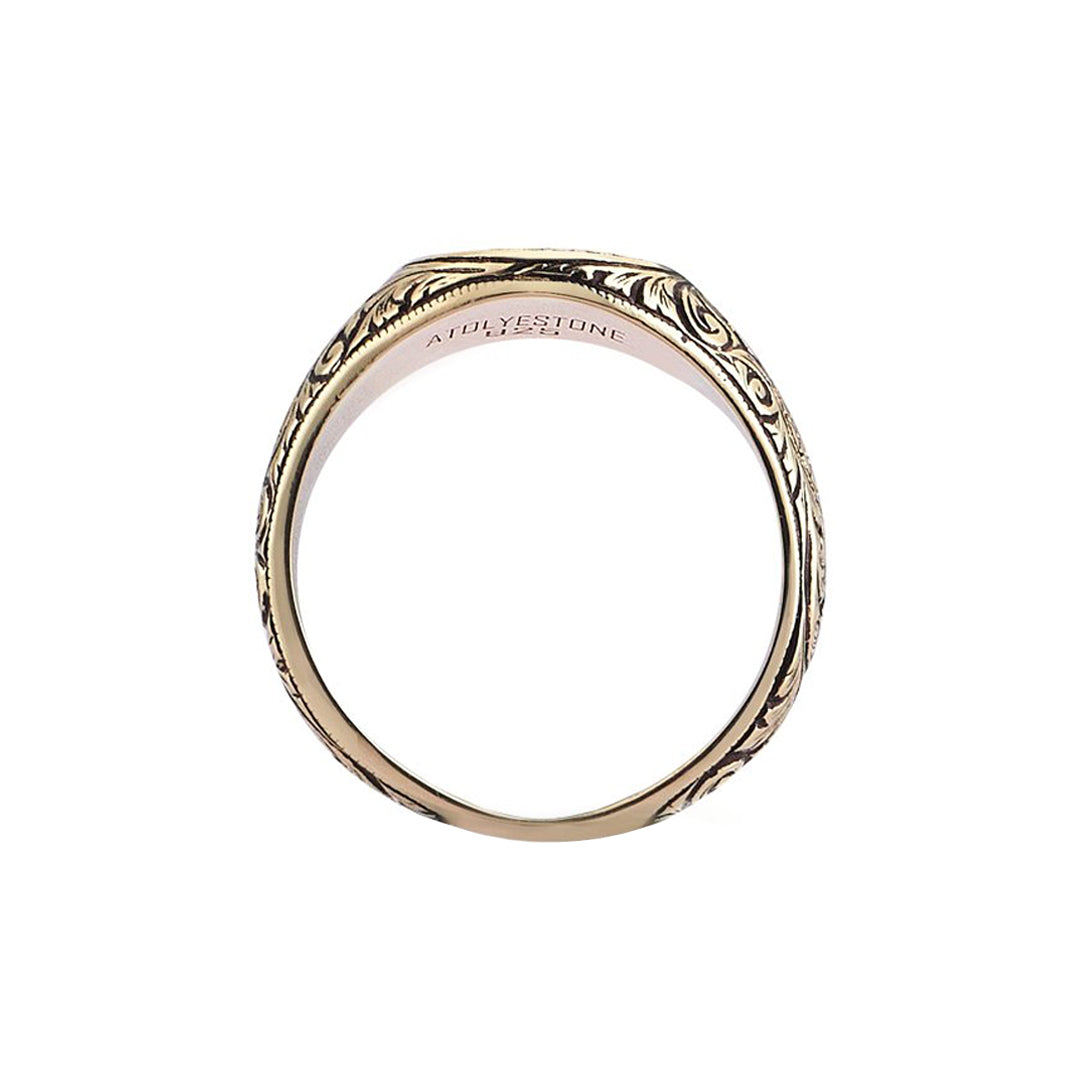 Oval Classic Ring - Solid Gold