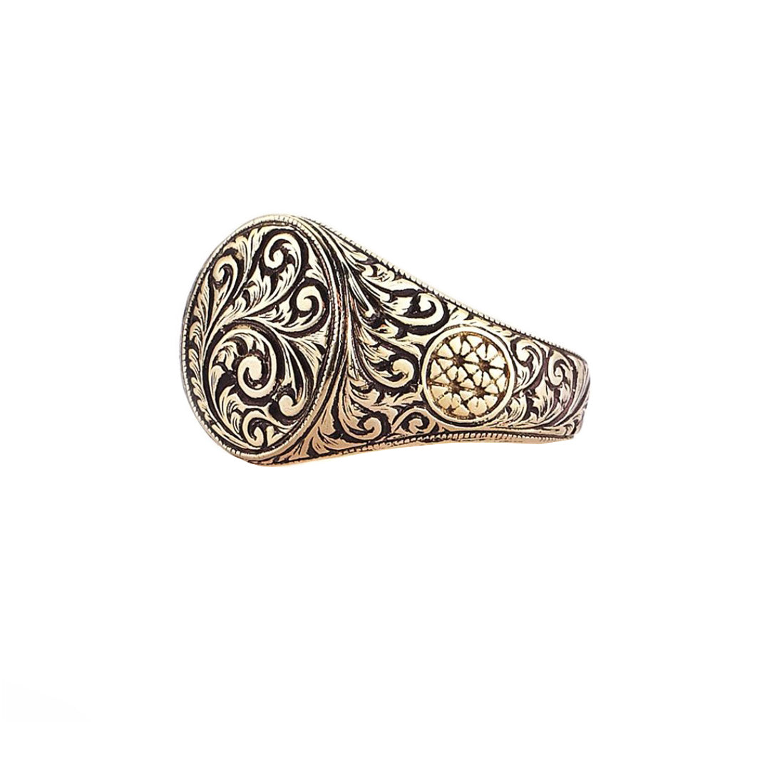 Oval Classic Ring - Yellow Gold