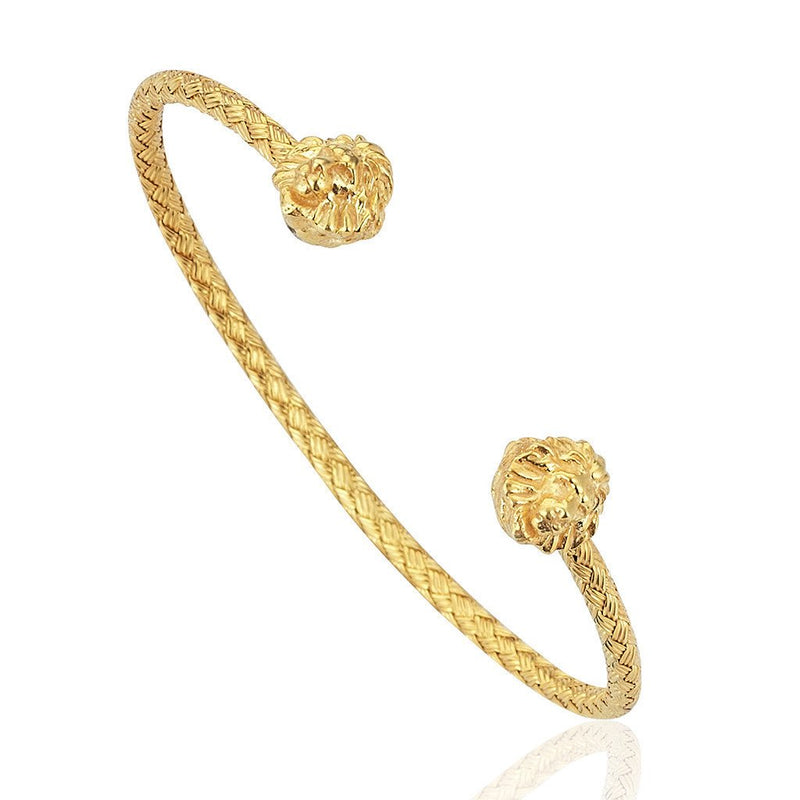Mens Leo Cuff - Yellow Gold