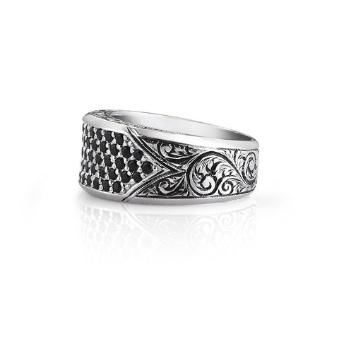 Leo Ring- Solid Silver