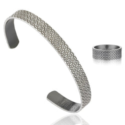 Signature Ring & Cuff Bundle - Silver