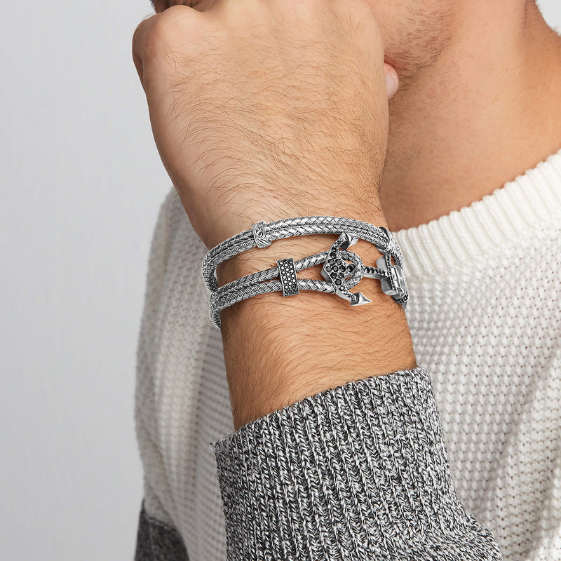 Anchor Bangle & Classic Bangle Bundle
