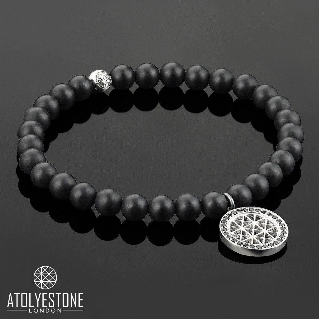 Women's Atolyestone Charm Bracelet - Solid Silver