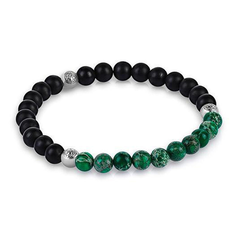 4mm beads bracelets with green beads