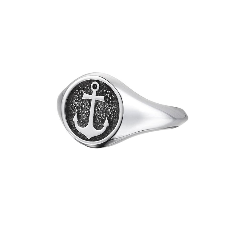 Anchor Ring - Silver