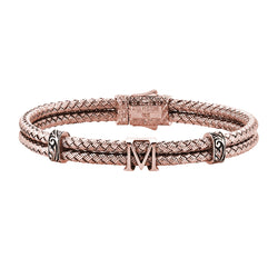 Women's Statements Bangle Bracelet - Rose Gold