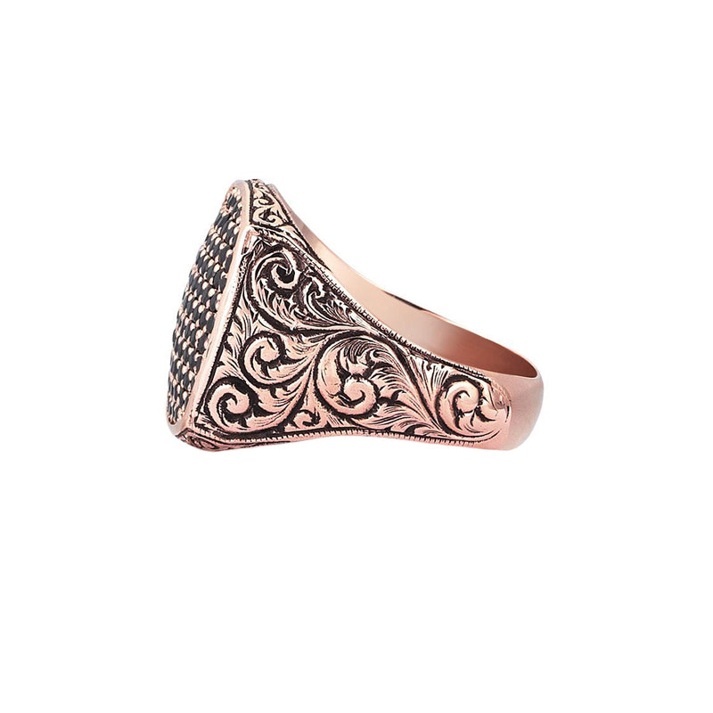 Classic Cushion Pave Ring by Atolyestone