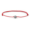 Classic Charm Macrame - Solid Gold - Red - White Gold