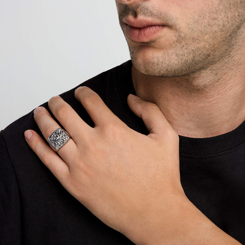 Classic Ring - Solid Silver for Men