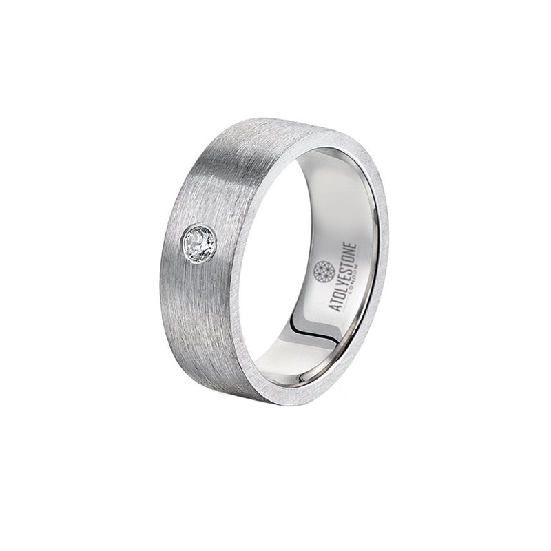 Diamond Coyote Buttes Ring - Solid Silver - 7mm