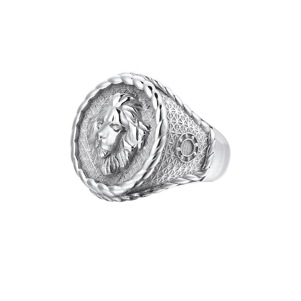 Imperial Leo Ring - Silver