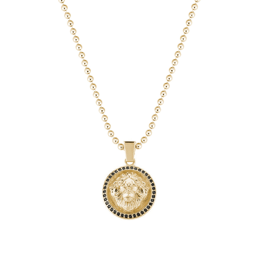 Leo Necklace - Solid Gold  (Pendant Only)