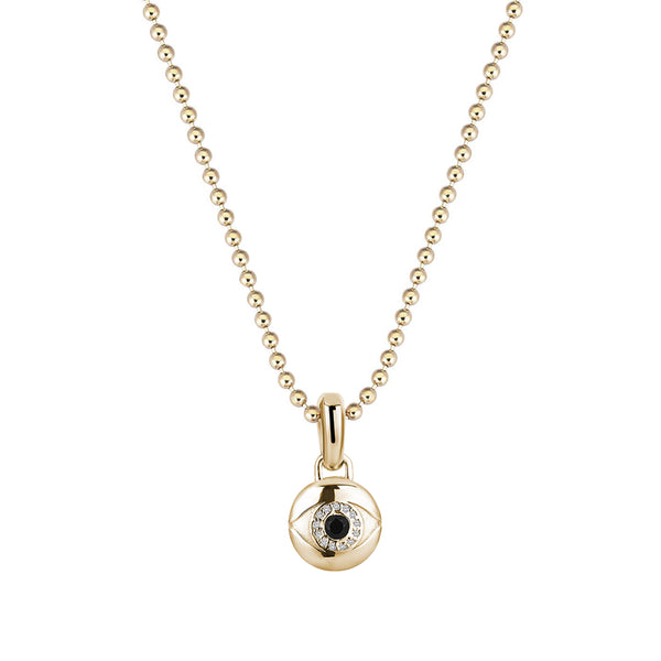 Men's Evil Eye Pendant in Gold (Pendant only)