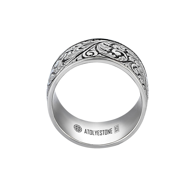 Premium Classic Band Ring in 925 Silver