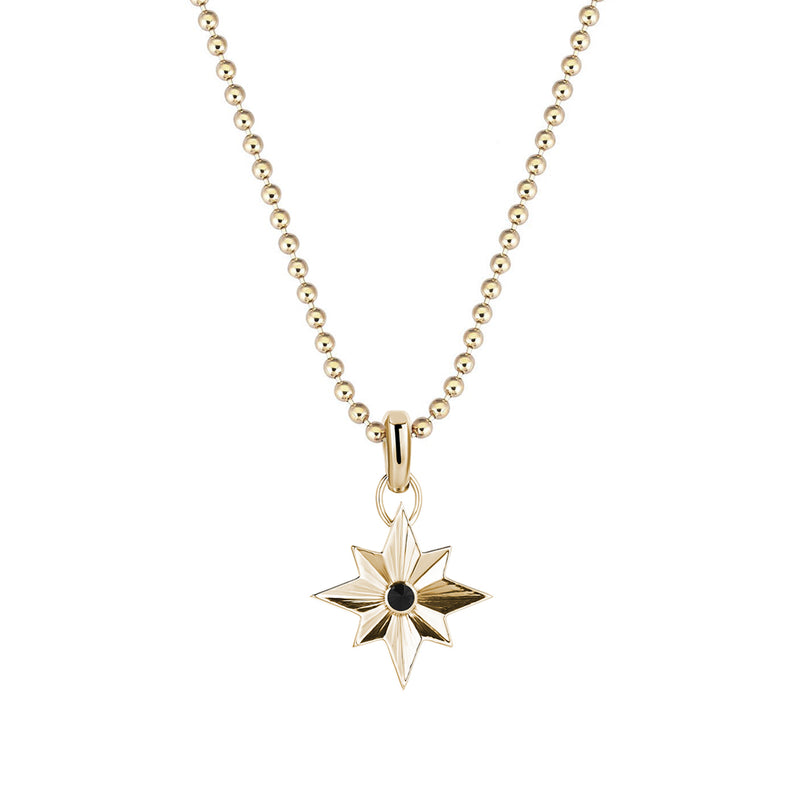 North Star Pendant in Gold (Pendant only)