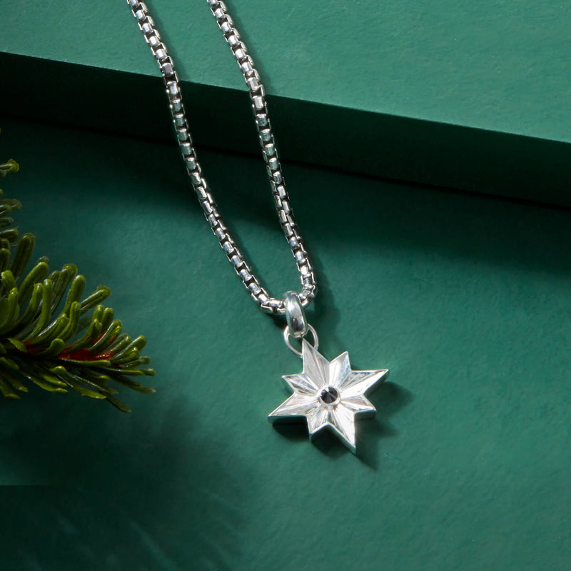 North Star Pendant in Silver (Pendant only)