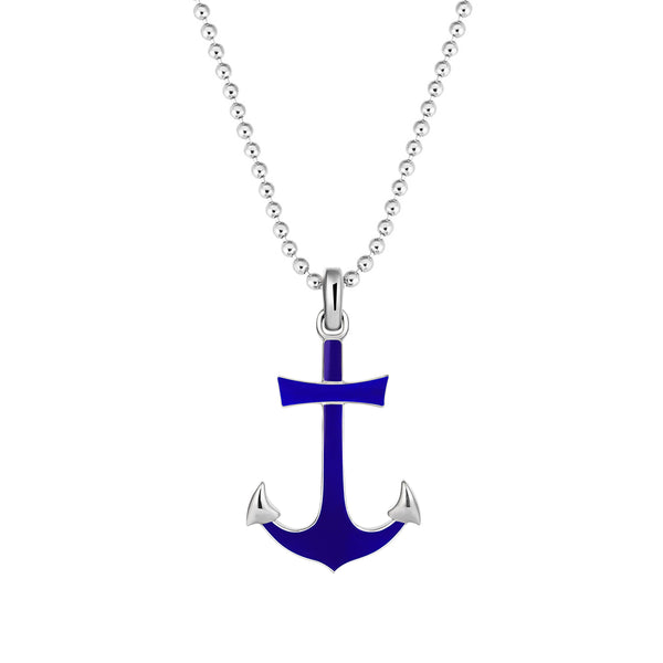 Ocean Anchor Pendant in Silver (Pendant only)