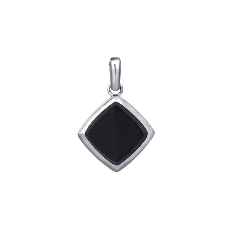 Agate Pendant - Solid Silver