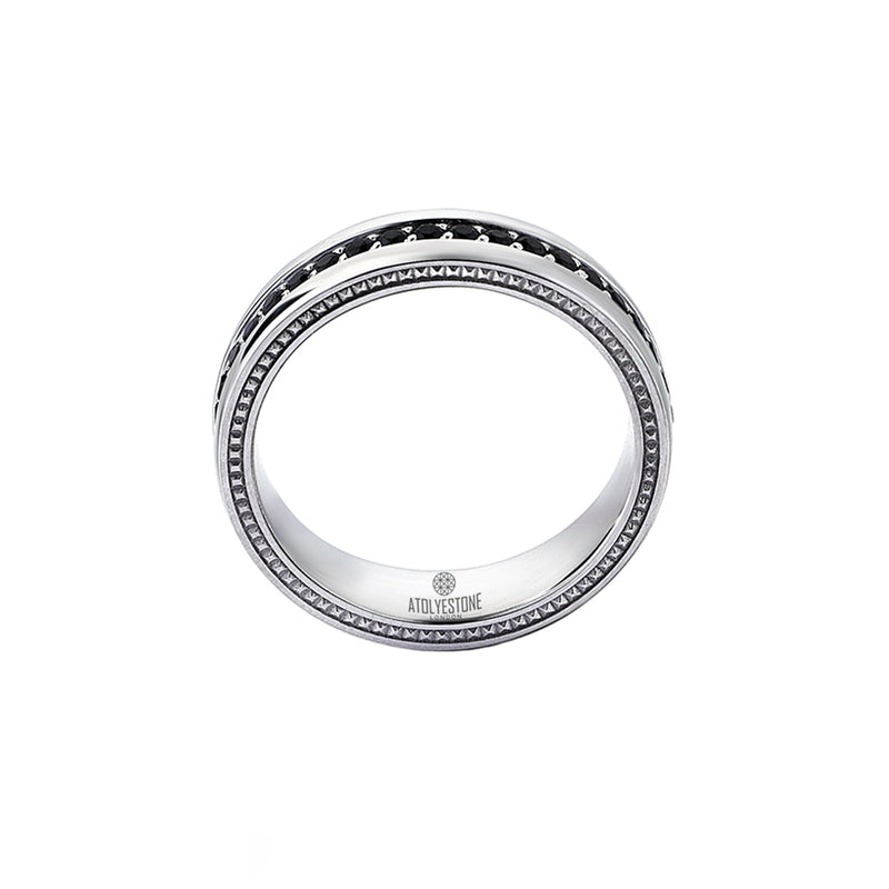 Pave Band Ring - Cubic Zirconia