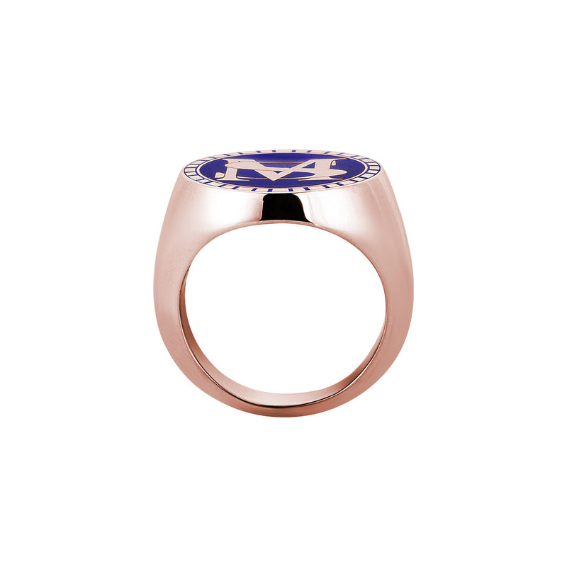 18k Rose Gold Personalised Ring
