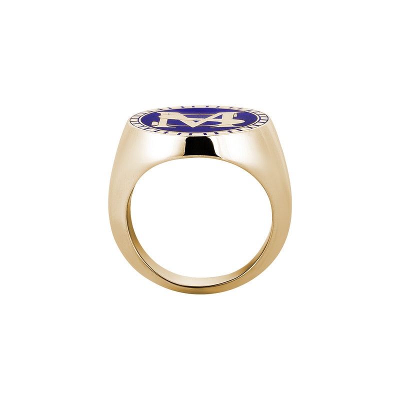 18k Yellow Gold Personalised Ring