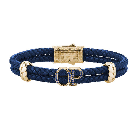Statements Cuban Links Leather Bracelets