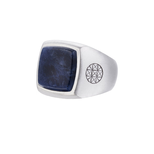 Prime Ring - Solid Silver - Sodalite