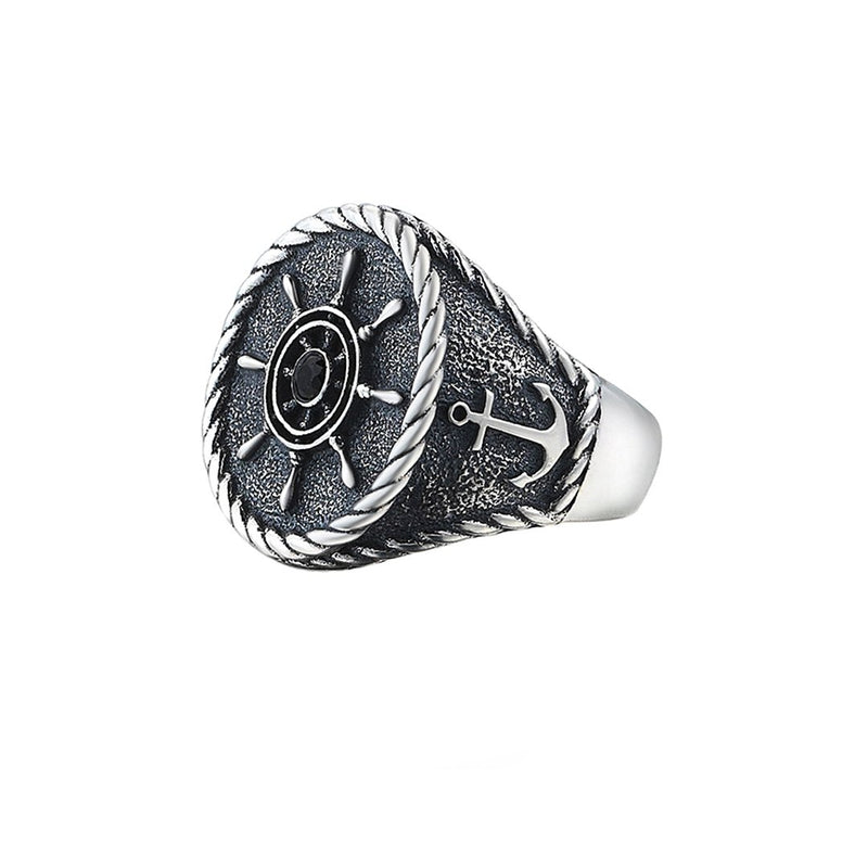 Rudder Ring - Solid Silver