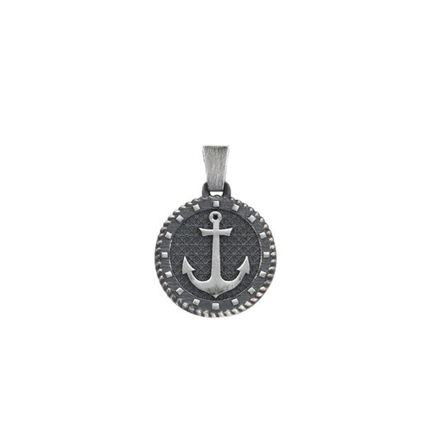 Sailor's Anchor Pendant - Solid Silver