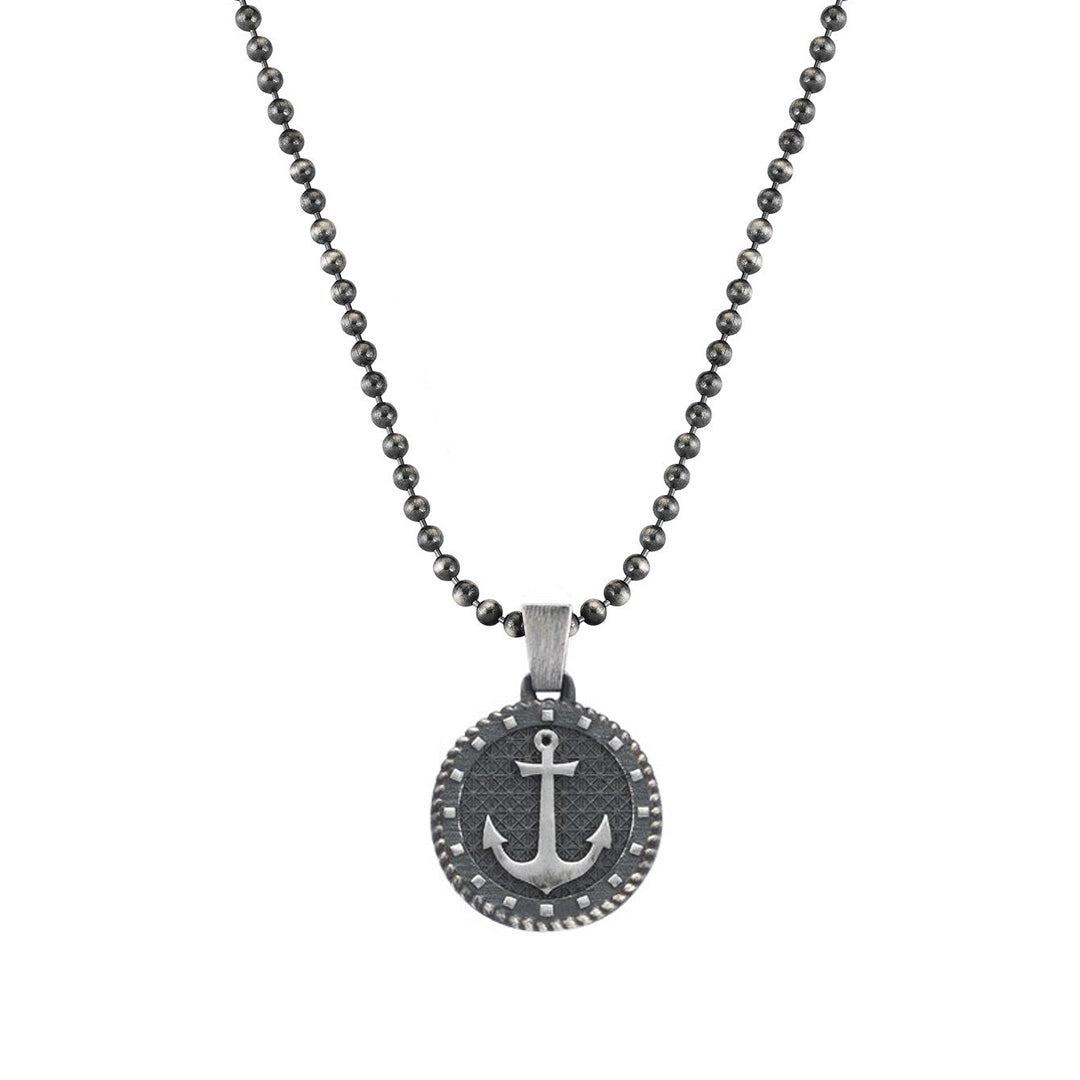 Mens Sailor's Anchor Necklace With Chain
