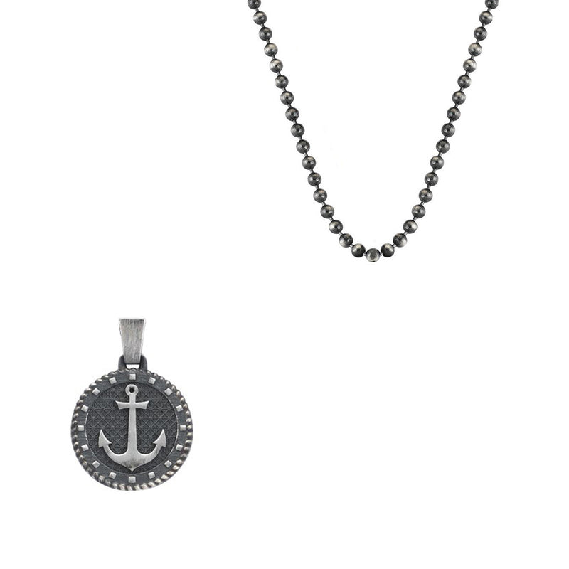 Sailor's Anchor Necklace With Chain