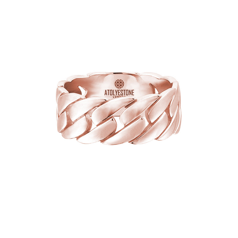 Chain Ring - Rose Gold